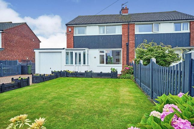 Thumbnail Semi-detached house for sale in Houghton Road North, Houghton, Carlisle, Cumbria