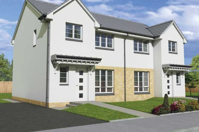 "Thumbnail Semi-detached house for sale in ""The Carrick"" at Kilsyth, Glasgow"