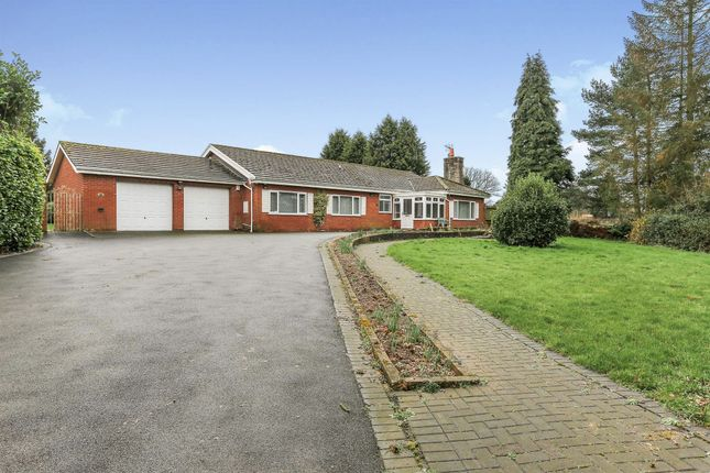 Thumbnail Detached bungalow for sale in Wootton Green Lane, Balsall Common, Coventry