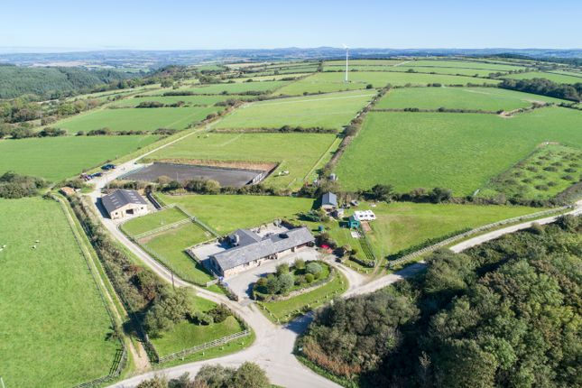 Thumbnail Detached bungalow for sale in St Breock, Nr Wadebridge