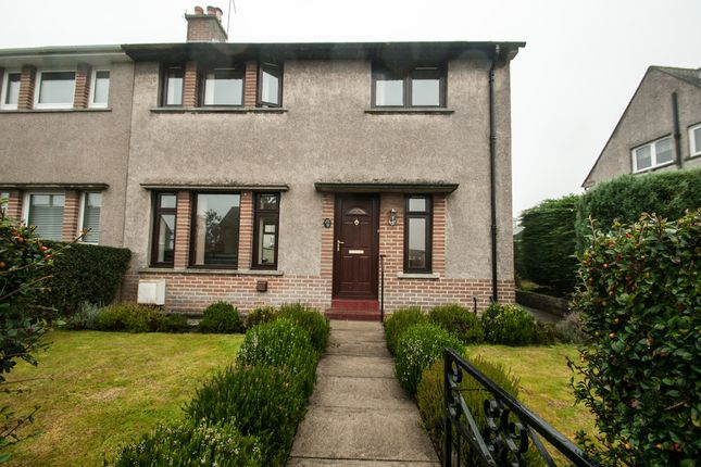 Thumbnail Semi-detached house to rent in Kirk Terrace, Cults, Aberdeen