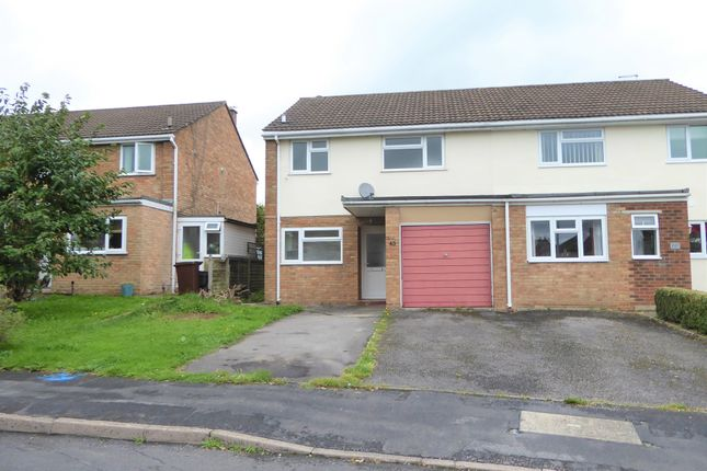 Thumbnail Semi-detached house for sale in Lynfield Road, Frome