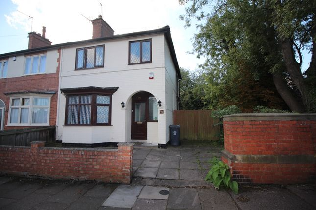 Thumbnail Semi-detached house for sale in Kimberley Road, Leicester