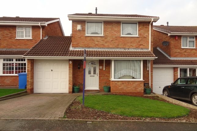 Thumbnail Link-detached house for sale in Swindale, Wilnecote, Tamworth