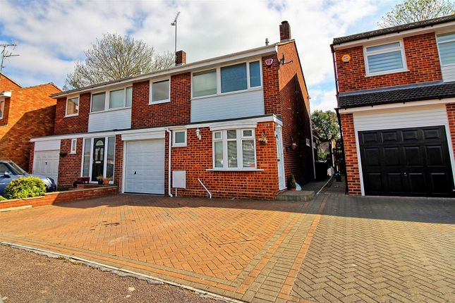 Thumbnail Semi-detached house for sale in Snells Mead, Buntingford