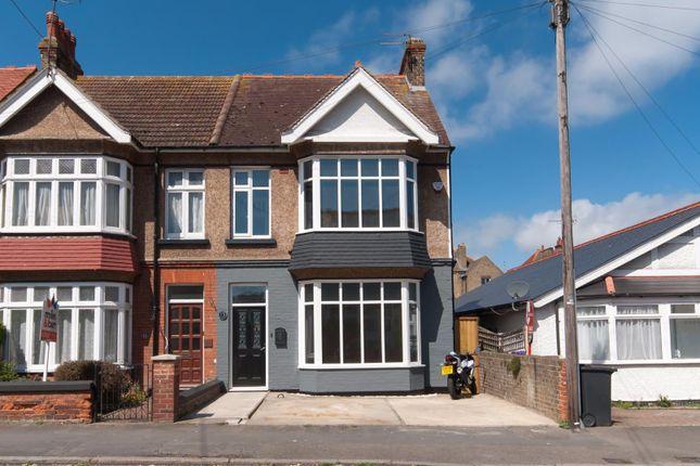 Thumbnail Semi-detached house for sale in Lyndhurst Avenue, Cliftonville, Margate