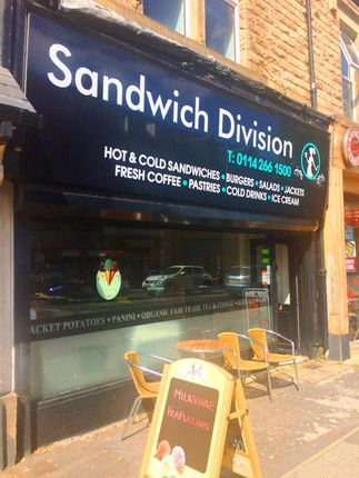 Retail premises for sale in Sheffield S11, UK