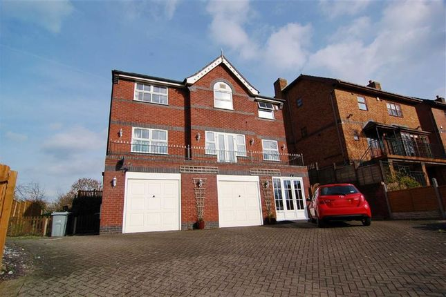 Thumbnail Detached house for sale in Canal Road, Congleton