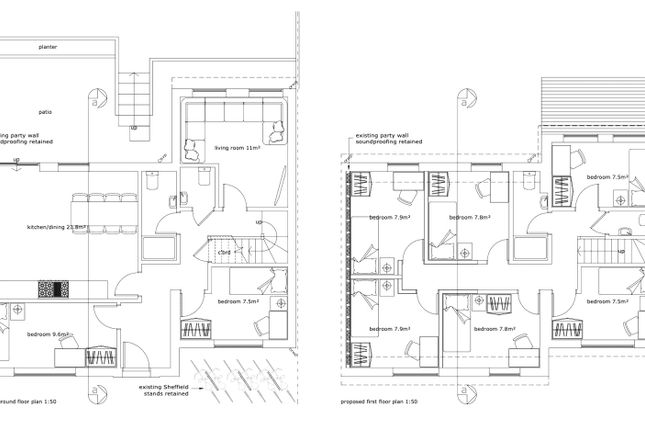 Floorplan of Norwich Drive, Brighton BN2