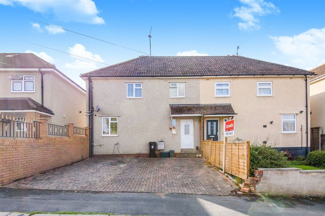 Thumbnail Semi-detached house for sale in Burnham Drive, Kingswood, Bristol