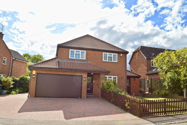 Thumbnail Detached house for sale in Court Road, Cranfield, Bedford