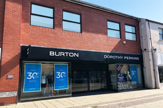 Retail premises to let in Caroline Street, Cardiff