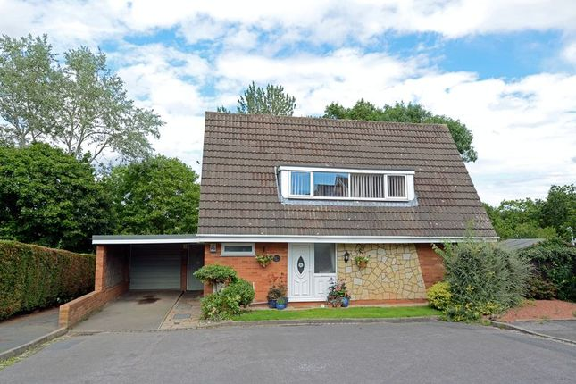 Thumbnail Detached house for sale in Bourton Close, Stirchley, Telford