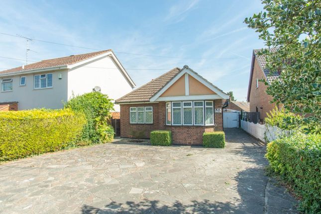 Thumbnail Detached bungalow for sale in Ongar Road, Pilgrims Hatch, Brentwood