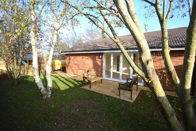 Thumbnail Detached bungalow for sale in Farndish Road, Irchester, Wellingborough, Northamptonshire