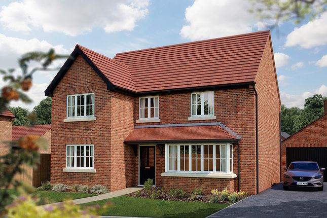 """Thumbnail Detached house for sale in """"The Chester"""" at Burton Road, Streethay, Lichfield"""