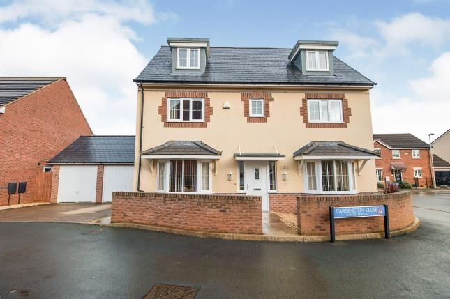 Thumbnail Detached house for sale in Cardington Close Kingsway, Quedgeley, Gloucester, Gloucestershire