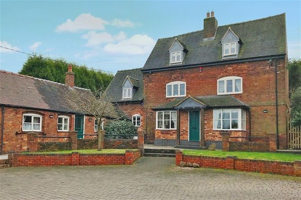 Thumbnail Detached house for sale in Main Road, Shuttington, Tamworth