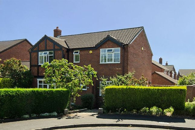 Thumbnail Detached house for sale in Keepers Close, Lichfield