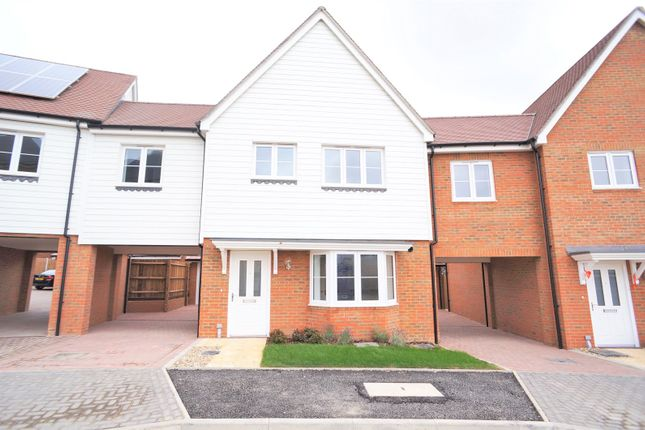 Thumbnail Semi-detached house to rent in Clayhill Gardens, Hoo, Rochester