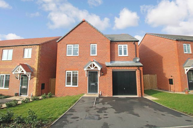 Thumbnail Detached house for sale in Knight Close, Polesworth, Tamworth