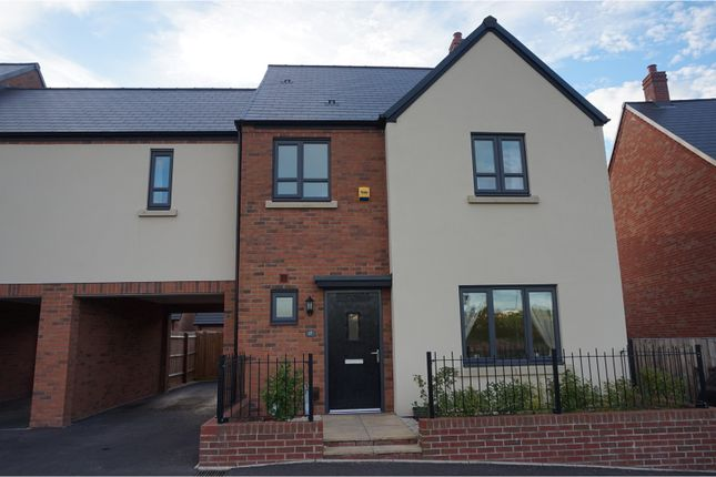 Thumbnail Link-detached house for sale in Candlin Way, Lawley Village, Telford