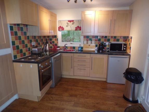 Kitchen Area of Glan Gwna, Caeathro, Caernarfon LL55