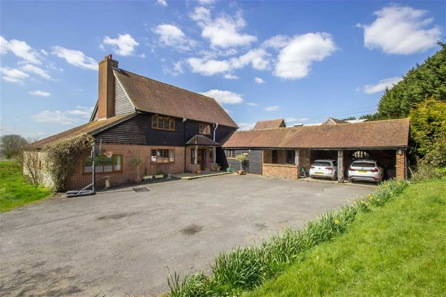 Thumbnail Detached house to rent in Flower Lane, Godstone, Surrey