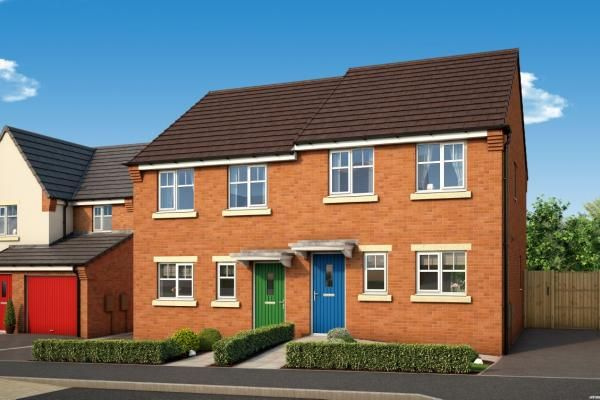 "Thumbnail Property for sale in ""The Maple At Willows, Dudley"" at Middlepark Road, Dudley"
