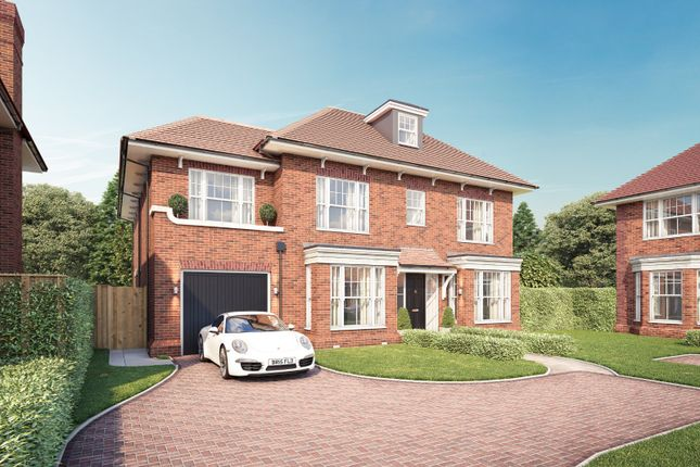 Thumbnail Detached house for sale in Chavey Down Road, Winkfield Row
