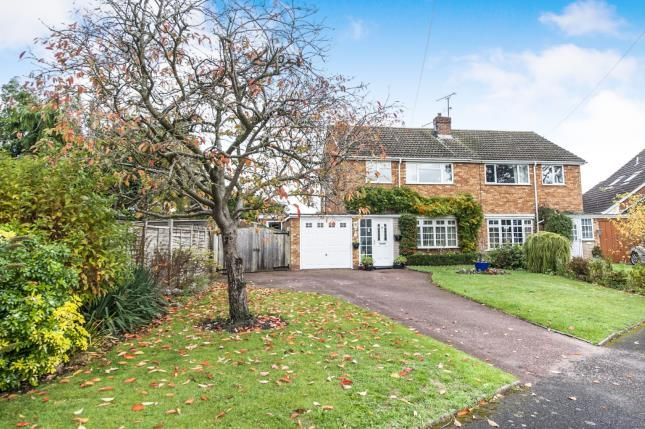 Thumbnail Semi-detached house for sale in Guild Road, Aston Cantlow, Henley In Arden, Warwickshire