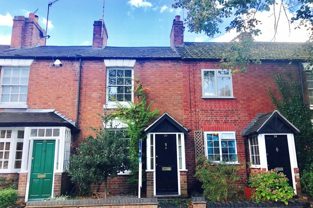 Thumbnail Terraced house for sale in Broad Street, Warwick