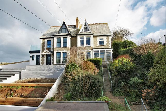 Thumbnail Semi-detached house for sale in Beach Road, Crantock, Newquay