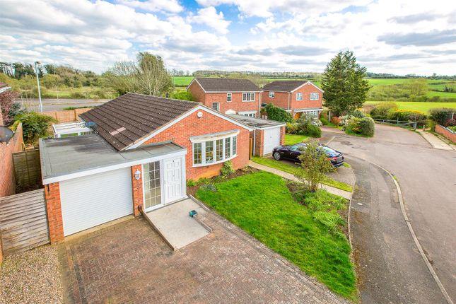 Thumbnail Detached bungalow for sale in The Hawthorns, Desborough