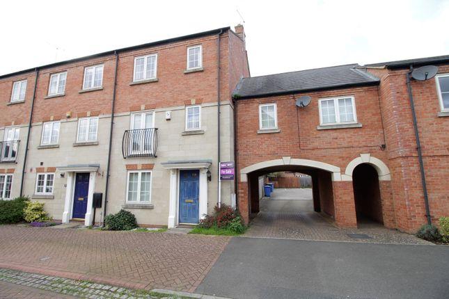 Thumbnail End terrace house for sale in Thistle Drive, Desborough