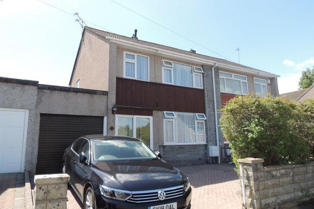 Thumbnail Semi-detached house for sale in Heath Rise, Cadbury Heath, Bristol