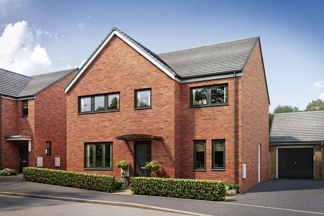 "Thumbnail Detached house for sale in ""The Corfe "" at Brickburn Close, Hampton Centre, Peterborough"