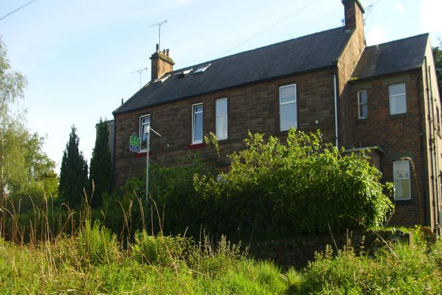 Thumbnail Flat for sale in Park View Back Road, Locharbriggs, Dumfries