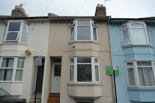 Terraced house for sale in Caledonian Road, Brighton
