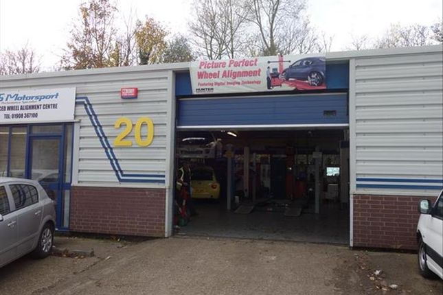 Thumbnail Commercial property for sale in Wheel Alignment And Diesel Tuning Centre MK2, Bletchley, Milton Keynes