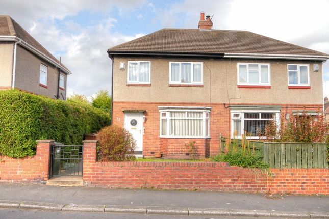 Thumbnail Semi-detached house for sale in Western Avenue, West Denton, Newcastle Upon Tyne