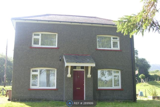 Thumbnail Detached house to rent in Llangower Road, Bala