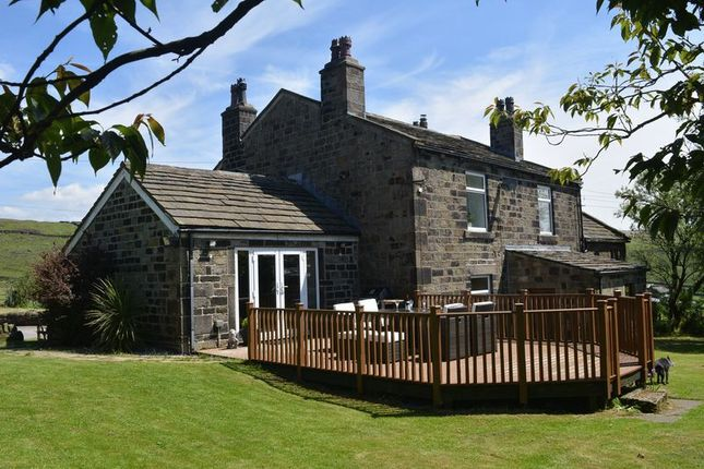 Thumbnail Detached house for sale in Knoll Top Farm, Warland, Todmorden
