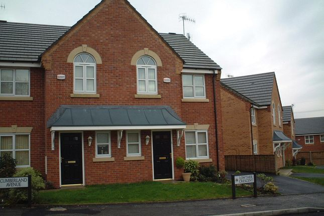 Thumbnail Semi-detached house to rent in Lowther Crescent, St Helens, Merseyside