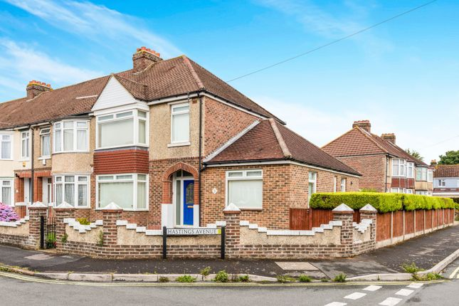 Thumbnail End terrace house to rent in Hastings Avenue, Gosport