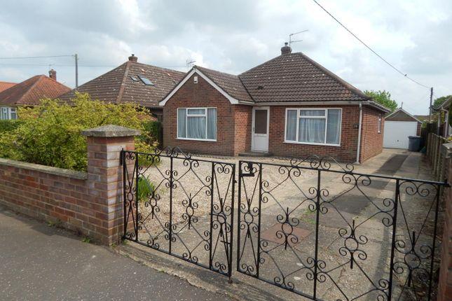 Thumbnail Bungalow to rent in Vera Road, Rackheath, Norwich