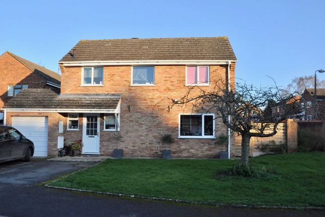 Thumbnail Detached house for sale in Seward Road, Badsey, Evesham