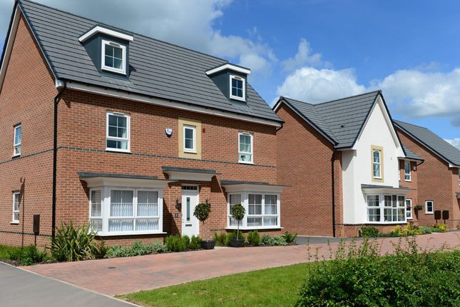 "Thumbnail Detached house for sale in ""Stratford"" at Carters Lane, Kiln Farm, Milton Keynes"