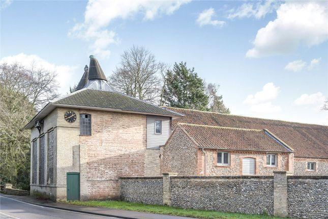 Thumbnail Barn conversion for sale in Holt Road, Letheringsett, Holt, Norfolk