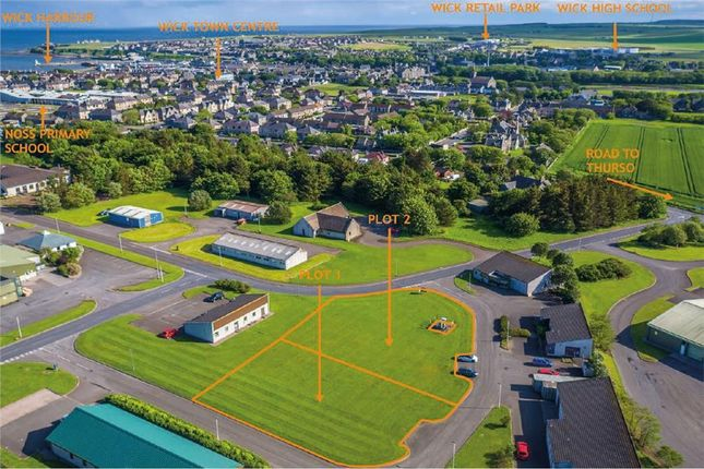 Thumbnail Land for sale in Development Land, Wick Airport Industrial Estate, Wick, Caithness And Sutherland